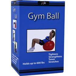 J-fit Gym Ball 65cm with Pump - 1 ball