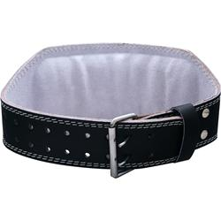Harbinger 6 Inch Padded Leather Belt Black (Large) - 1 unit