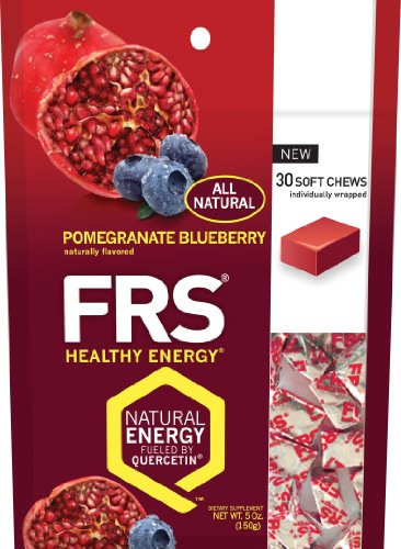 FRS Healthy Energy Chews Pomegranate Blueberry - 30 chews