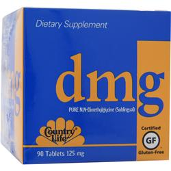 Country Life  DMG (125mg) - 90 tabs