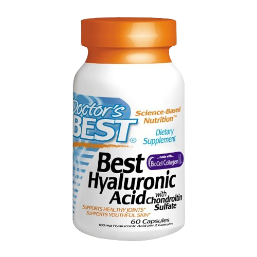 Doctor's Best Best Hyaluronic Acid w/ Chondroitin Sulfate 60 caps
