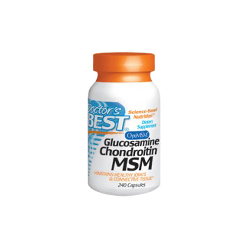 Doctor's Best Glucosamine Chondroitin MSM 240 caps
