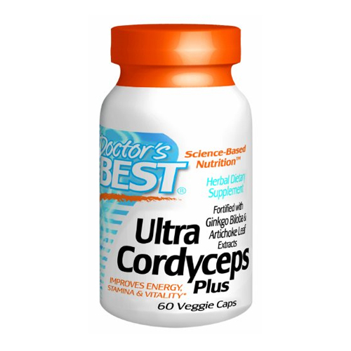 Doctor's Best Ultra Cordyceps 60 vcaps