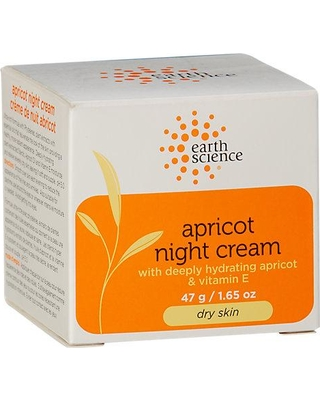 Earth Science Apricot Intensive Night Creme Normal to Dry Skin - 2 oz