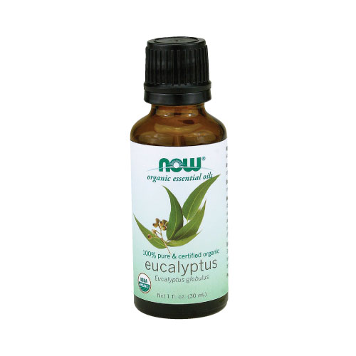 NOW Certified Organic Eucalyptus Oil 1 fl.oz