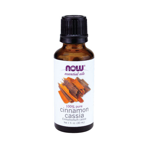 NOW Cinnamon Cassia Oil 1 fl.oz