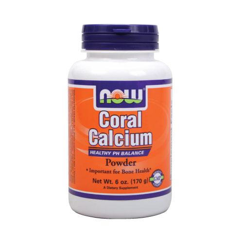 Now Coral Calcium Powder - 6 oz