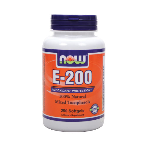 Now E-200 Mixed Tocopherols 250 sgels