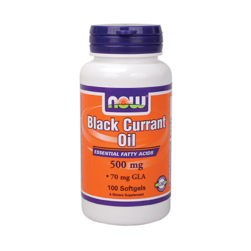 NOW Black Currant Oil (500mg) 100 sgels
