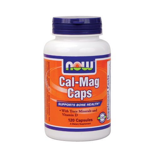 NOW Cal-Mag Caps 120 caps