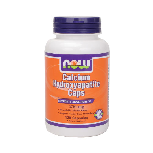Now Calcium Hydroxyapatite - 250 mg 120 caps