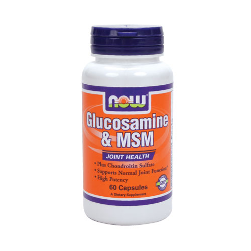 NOW Glucosamine & MSM 60 caps
