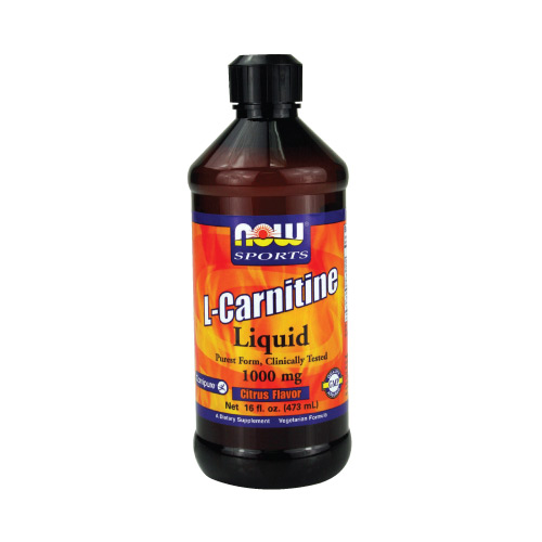Now L-Carnitine Liquid (1000mg) Citrus 16 fl.oz