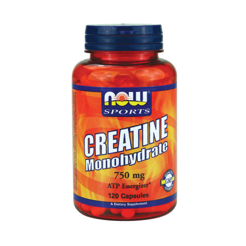 NOW Creatine Monohydrate (750mg) 120 caps