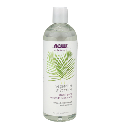 NOW Vegetable Glycerine 100% Pure Versatile Skin Care - 16 fl.oz