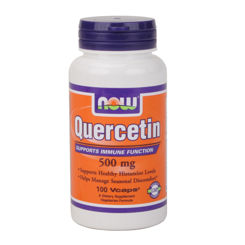 Now Quercetin - 500 mg 100 vcaps
