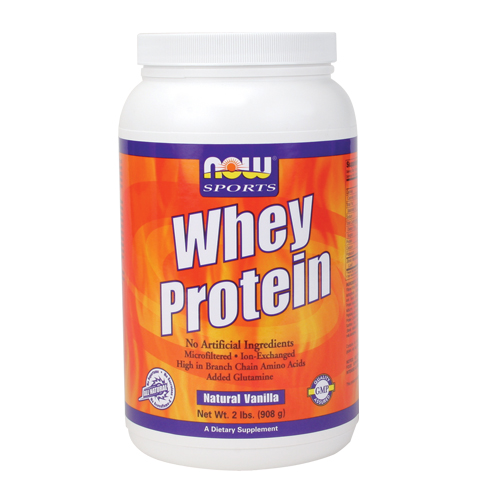 NOW Whey Protein Natural Vanilla 2 lbs