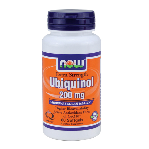 NOW Ubiquinol - Extra Strength (200mg) 60 sgels