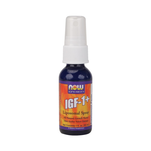 Now IGF-1 plus LipoSpray 1 fl.oz