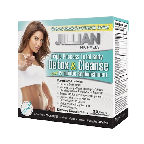 Thin Care International Jillian Michaels Detox & Cleanse - 35 caps