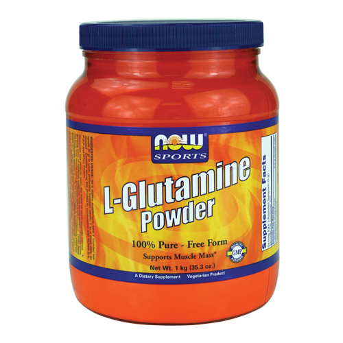 NOW L-Glutamine Powder 1000 gr