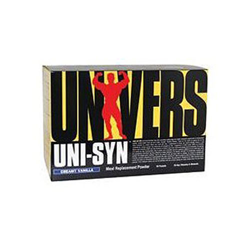 Universal Nutrition Uni-Syn Meal Replacement Powder Creamy Vanilla 20 pckts