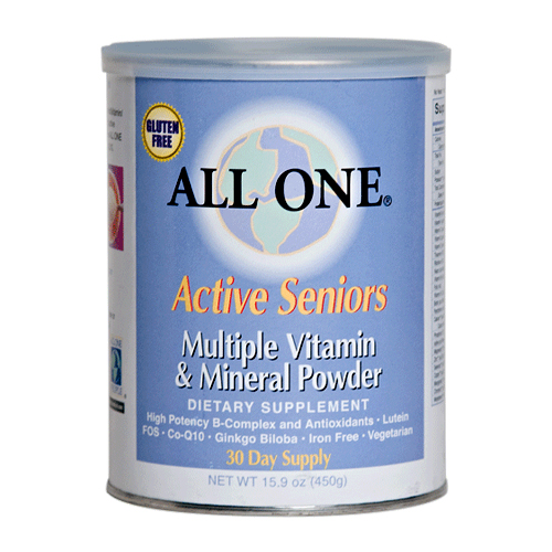 All One Multiple Vitamins & Minerals - Active Senior's Formula 15.9 oz