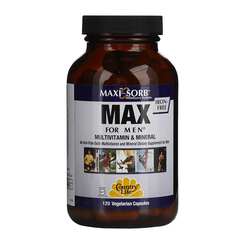 Country Life Max For Men 120 vcaps
