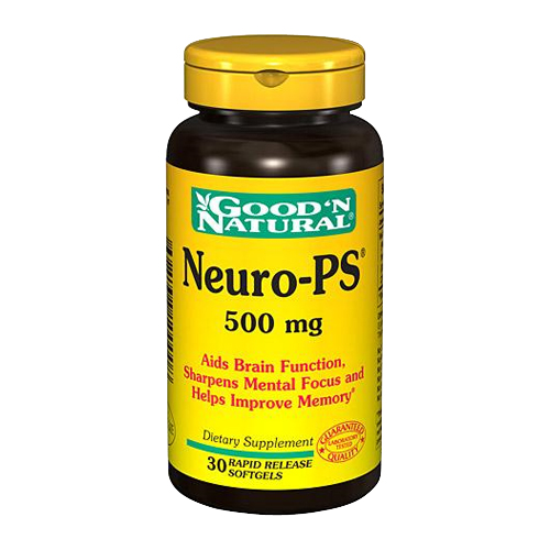 Good 'N Natural Neuro-PS (500mg) 30 sgels
