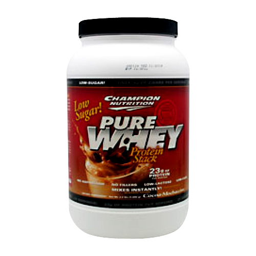 Champion Nutrition Pure Whey Protein Stack Cocoa-Mochaccino 2.2 lbs