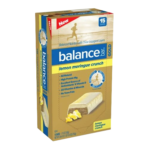 Balance Bar Gold Lemon Meringue Crunch 15 bars