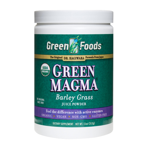 Green Foods Green Magma - Barley Grass Juice Powder 11 oz