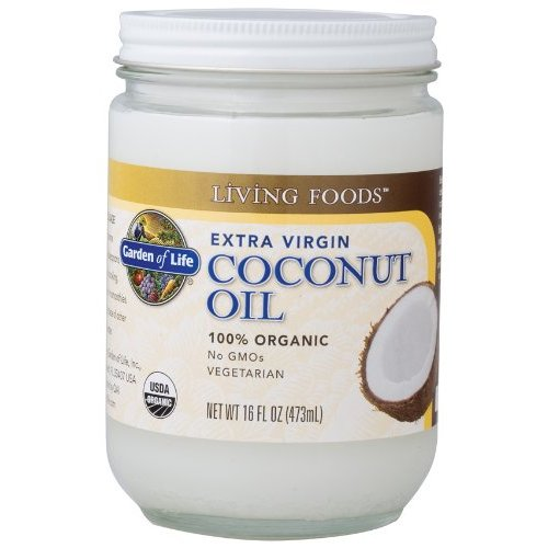 Garden of Life 100% Organic Extra Virgin Coconut Oil - 16 fl.oz