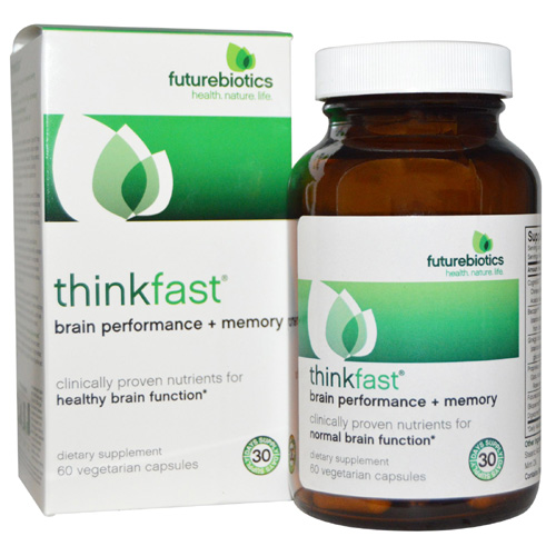 Futurebiotics ThinkFast - Brain Performance plus Memory 60 vcaps - astronutrition.com