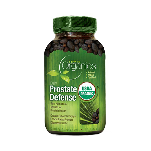 Irwin Naturals Organics - Daily Prostate Defense 60 tabs