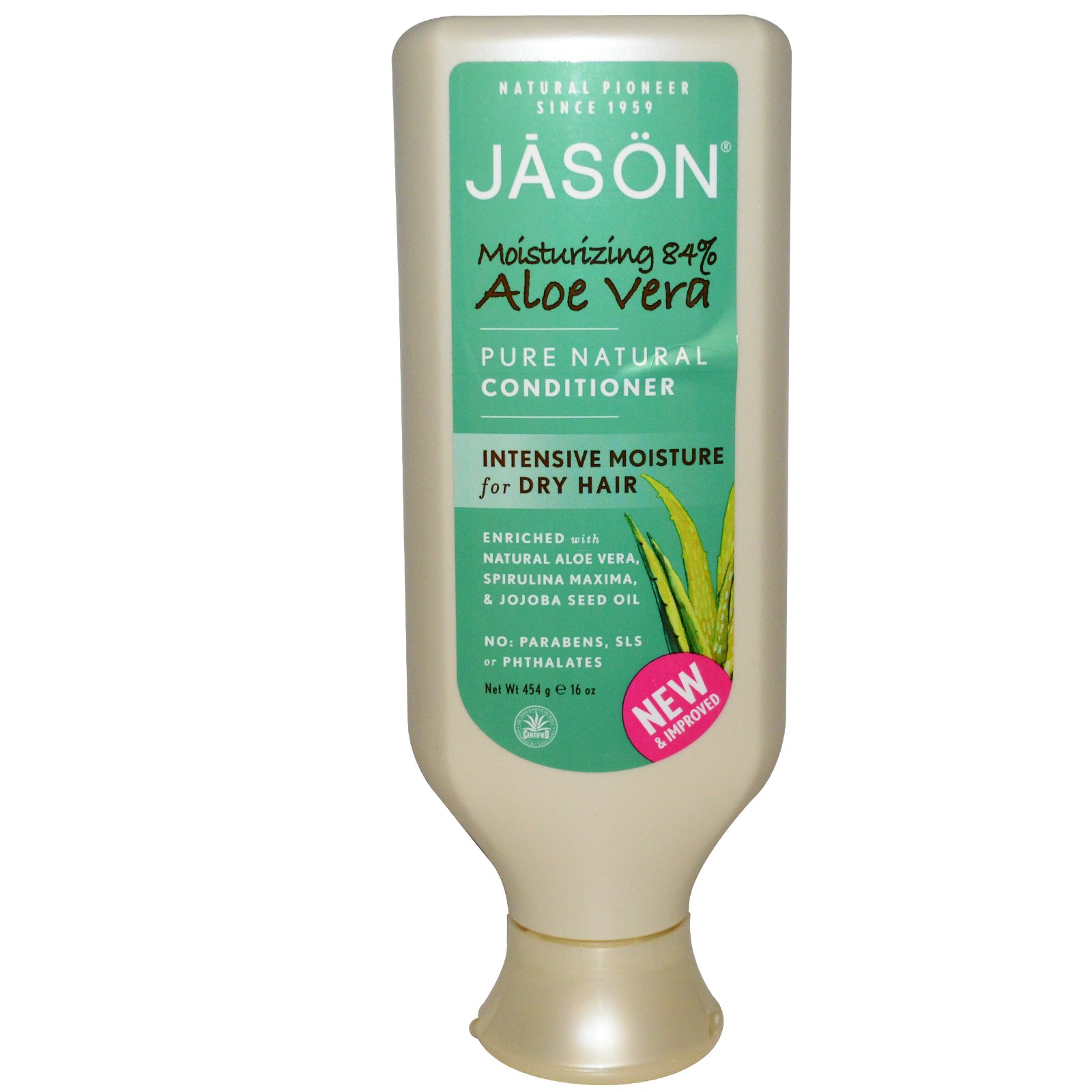 Jason Aloe Vera 84% Hair Soothing Conditioner - 16 oz