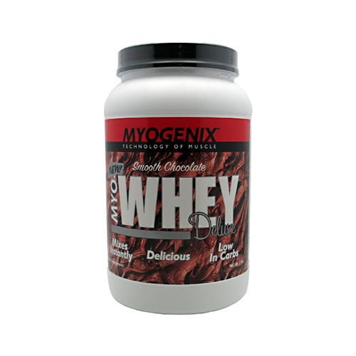 Myogenix MYO Whey Deluxe Smooth Chocolate 2 lbs.