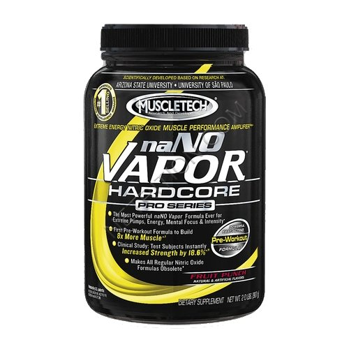 MUSCLETECH naNO Vapor Hardcore Pro Series Powder