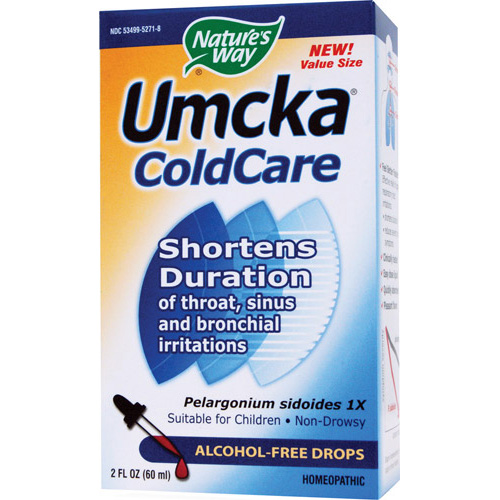 Nature's Way Umcka ColdCare Alcohol-Free Drops - 2 fl.oz - astronutrition.com