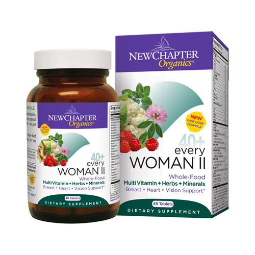 New Chapter Organics 40+ Every Woman II 48 tabs