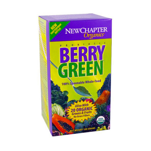 New Chapter Probiotic Berry Green 180 gr