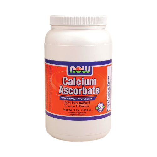 NOW Calcium Ascorbate Powder 3 lbs