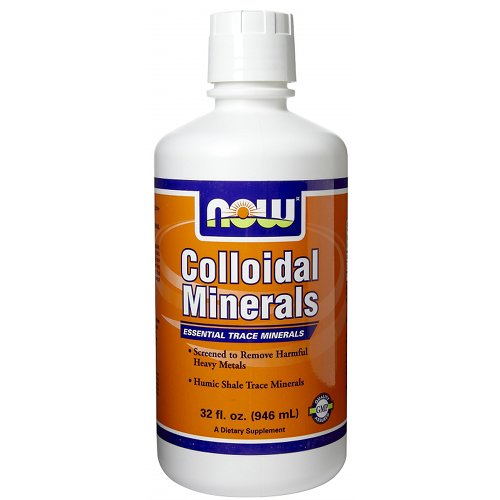 NOW Colloidal Minerals Reduced Heavy Metals 32 fl.oz