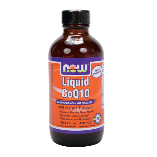 Now Liquid CoQ10 4 fl.oz