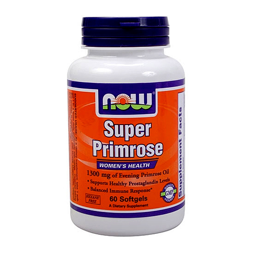 Now Super Primrose (1,300 mg.) - 60 softgels