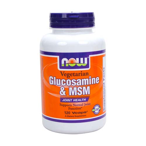 Now Vegetarian Glucosamine & MSM - 120 vcaps