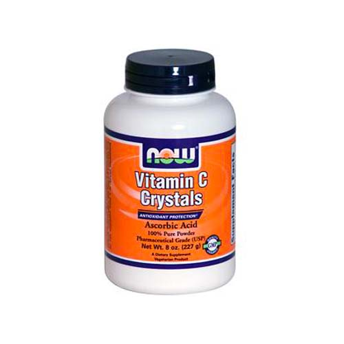 Now Vitamin C Crystals -  8 oz