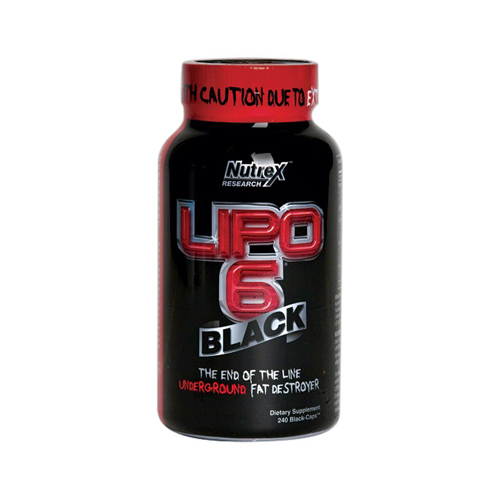 Nutrex Research Lipo-6 Black 240 caps