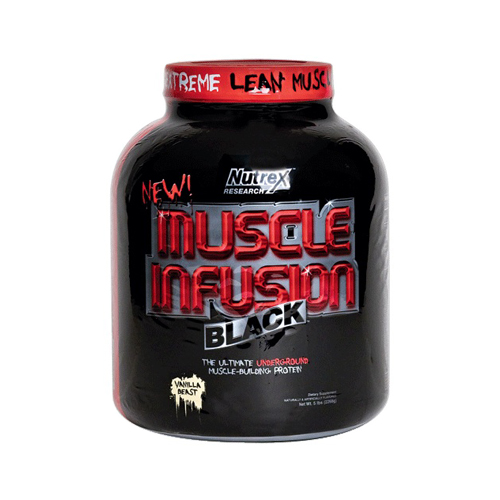 Nutrex Research Muscle Infusion Black Vanilla Beast 5 lbs