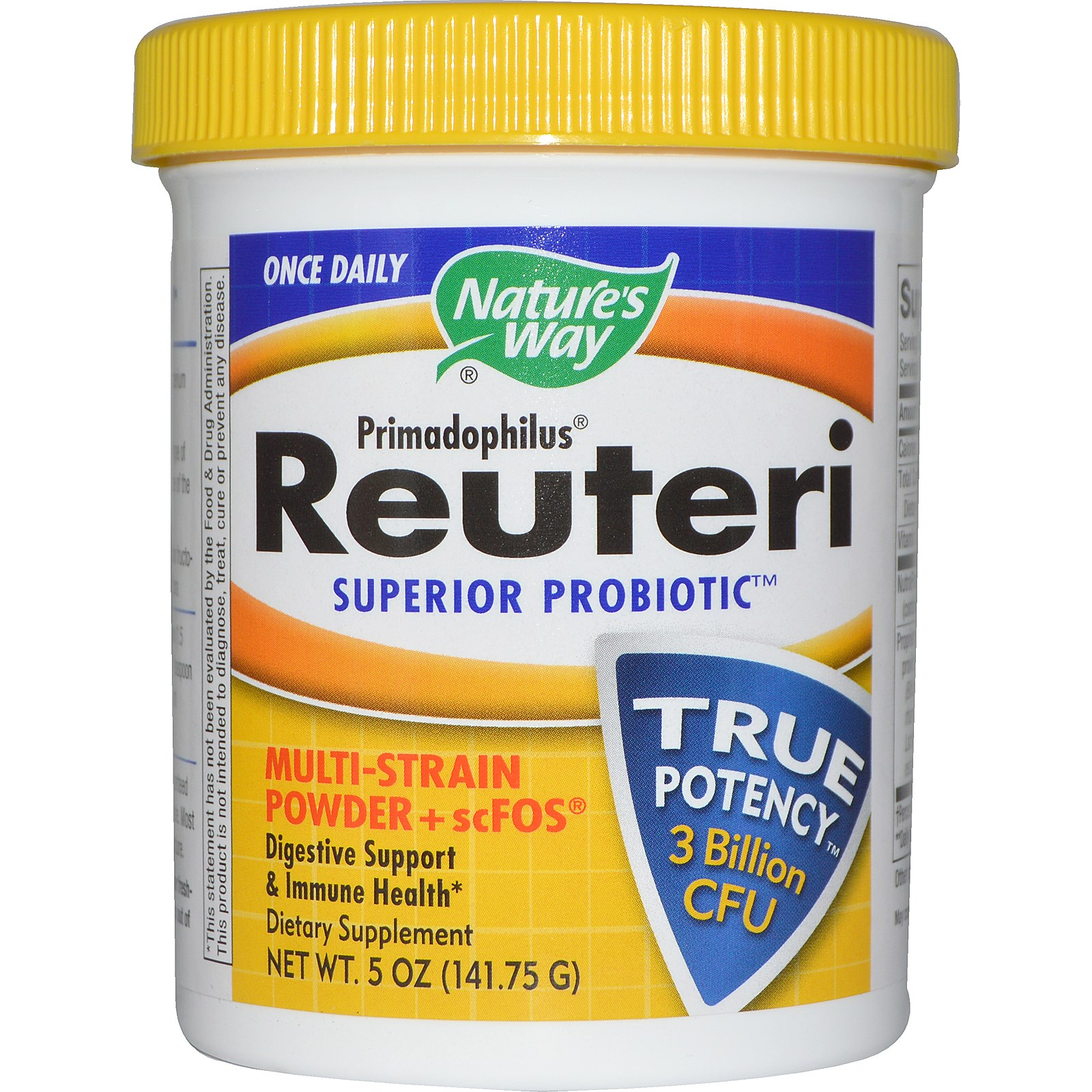 Nature's Way Primadophilus Reuteri Pearls - 60 unit